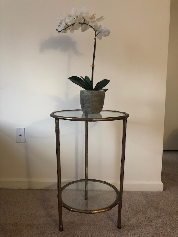 Beautiful Golden accent table