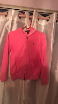 Pink ralph lauren zip-up jacket New York, 11212