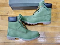 TIMBERLAND MENS BOOTS ARMY GREEN SIZE 9.5 NEW  Cleveland, 44102