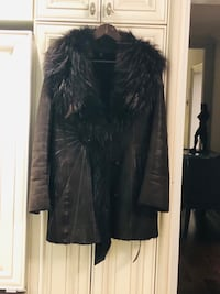 Real leather coat Vaughan, L4K 5T4