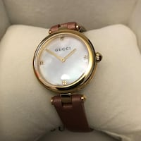 New Gucci watch with box