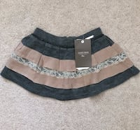 Mayoral Chic grey and taupe skirt size 2T Mississauga, L5M 0H2