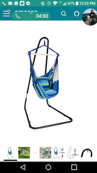 Hammock chair swing seat with frame and everything Springfield, 97477