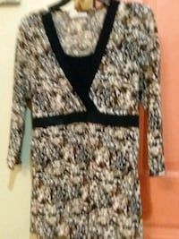 white and black leopard print cardigan McAllen, 78503