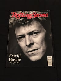 Rolling Sone David Bowie Memorial Issue. Excellent Condition w/o Label Baltimore, 21211