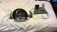 Xbox racing wheel and pedals Picayune, 39466