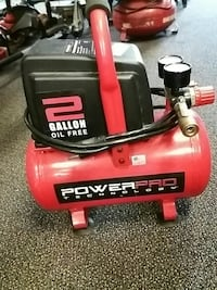 red and black PowerPro air compressor Hagerstown, 21740