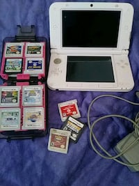 white Nintendo DS with game cartridges Norfolk, 23503