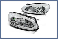 FAROS TUBE LIGHT CROMO VW GOLF MK6 MADRID
