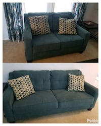 Teal Sofa and Loveseat Orlando, 32824
