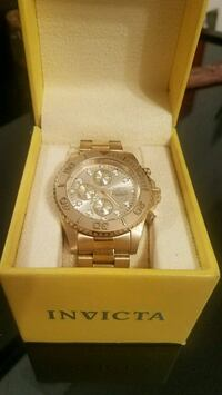 Gold Pro-Diver Invicta chronograph watch  North Arlington, 07031