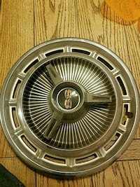 Original Impala ss hubcaps great condition