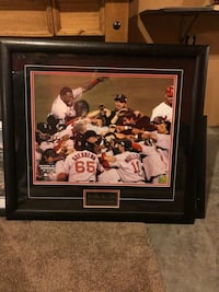 Boston red sox 2014 world series framed wall decor Lawrence, 54115