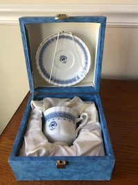 Porcelain Teacup and saucer, brand new, made in Portugal   Woodbridge, 22192