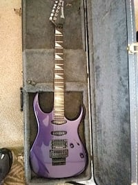 purple and black electric guitar Augusta
