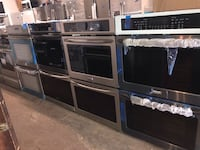 "New 30"" double wall oven electric 6 months warranty Pikesville, 21208"