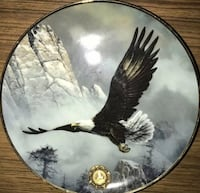Save The Eagle Franklin Mint Plate Baltimore, 21218