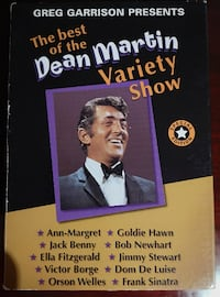 Dean Martin Variety Show Lot of 8 DVDs