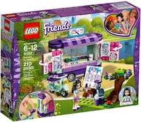 LEGO Friends Emma's Art Stand 41332 New In Sealed  Brampton, L6Y 5B8