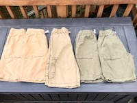 Hanna Andersson Cotton Canvas Short, SEVEN Pair, Boys Size 150 Mc Lean, 22101