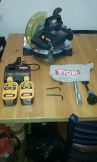 black and gray Ryobi cordless power drill Warrenton
