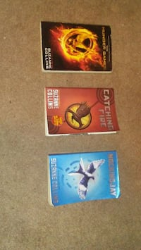 ALL 3 HUNGER GAMES BOOKS 4 AN ALL TIME LOW PRICE!! Surrey, V3S 4J5