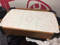 white and red air hockey table Toronto, M1T 3K9