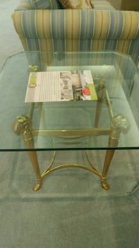 Glass side table Palm City, 34990