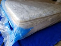 single mattress pillowtop 120$ delivery 30