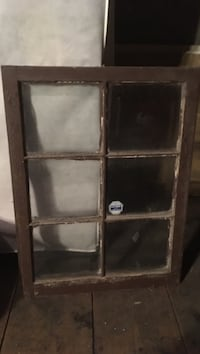 Brown wooden 6-lite window Hanover, 17331