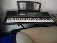 black and white electronic keyboard Sykesville, 21784
