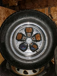 Keystone rims and tires