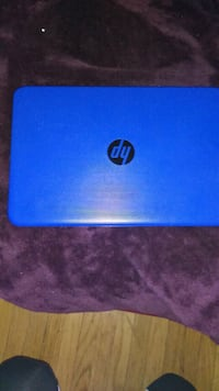blue and black HP laptop Tulsa, 74120
