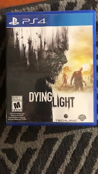 Dying Light PS4 game case Port Coquitlam, V3B