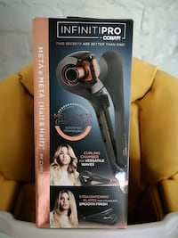 Infiniti Pro hair curler and straightener in one. Mount Albert, L0G 1M0