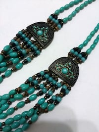 Turquoise Beaded Necklace Toronto