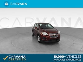 2016 Chevy Chevrolet Trax hatchback LS Sport Utility 4D Red