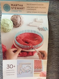 Martha Stewart knit and weave loom kit  Falcon Heights, 55108