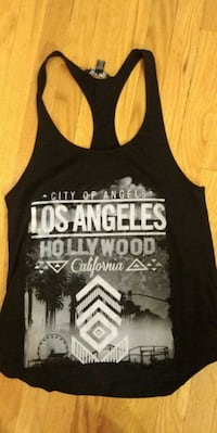 black and white tank top Winnipeg