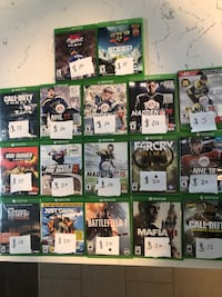 Xbox one games  London, N5X 0C1