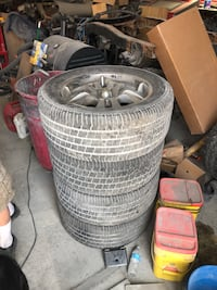 Wheels and tires 2375 mi