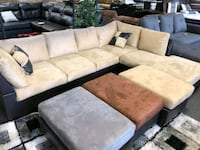 BRAND NEW IN BOX- Tan sectional  Rosedale, 21237