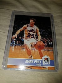 Mark Price Cavs trading card Suffolk, 23434