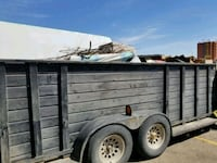 Truck and trailer for hire  Edmonton, T5C 3H7