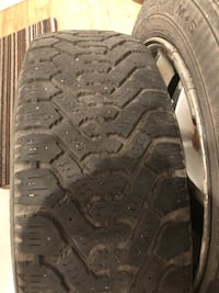 Excellent winter tires and rim (185/60/R15) Montréal, H4A 2G7