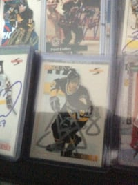 Pittsburgh Jagr Autographed Cards Mississauga