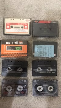 Assorted Cassettes for shop decoration