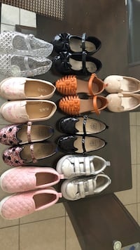 assorted pairs of shoes and sandals Brownsville, 78521