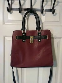 women's red leather tote bag Knoxville, 37922