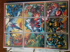 Marvel card set
